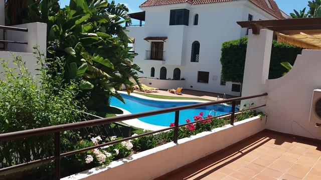 alquiler Coto Real II – garden apartment