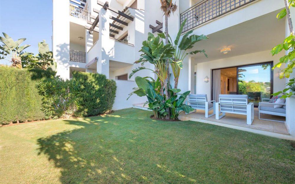 brandnew fully furnished garden apartment in Monte Paraiso Golf